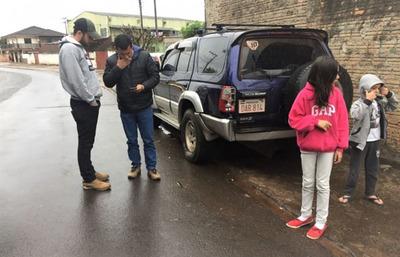 Recuperan en FOZ una camioneta robada en el Guairá