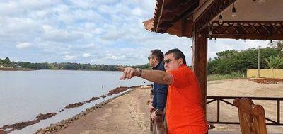 Encuentro de intendentes de la frontera se realiza en Saltos del Guairá