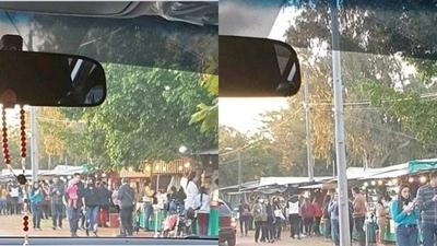 HOY / Areguá, desbordada de visitantes: Policía se vio sobrepasada y anuncia medidas para el finde