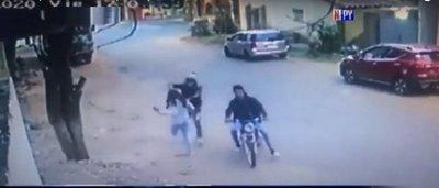 La otra epidemia: Nuevo ataque callejero de motochorros