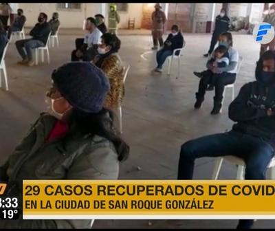 Reportaron 29 recuperados de Covid-19 en San Roque González