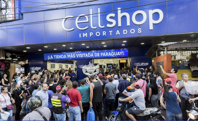 CellShop se prepara para abrir la mayor tienda free shop en Foz