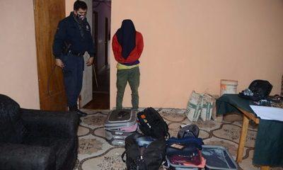 Ratero es detenido con ropas  hurtadas de una vivienda – Diario TNPRESS