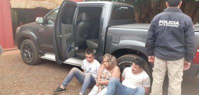 Trío de delincuentes protagoniza serie de asaltos y  tras persecución policial cae detenido en un motel – Diario TNPRESS