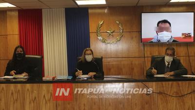 PRIMER  JUICIO ORAL POR MEDIOS TELEMÁTICOS EN ITAPÚA.