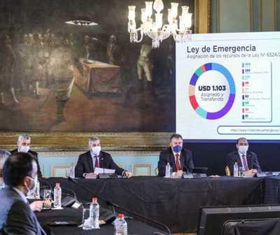 Gobierno presentó su plan para reactivar la economía por US$ 2.500 millones