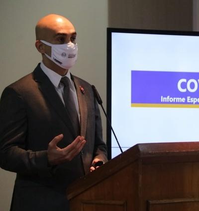 Informe Covid-19: reportan un nuevo fallecimiento