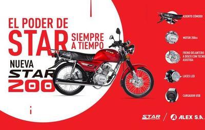 ALEX S.A. lanzó nuevos modelos de motos: la STAR XPRO y STAR 200