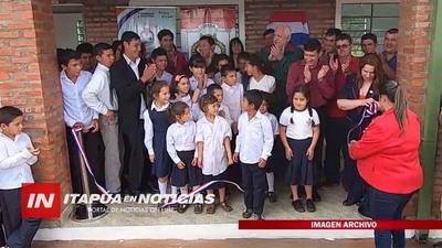 CONSTRUIRÁN COMEDORES Y SANITARIOS EN ESCUELAS DE ITAPÚA