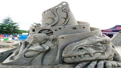 El arte de moldear la arena