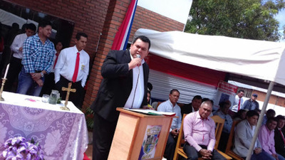 Intendente Azote'y ingresa a terapia Intensiva del Hospital Regional