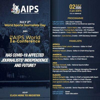 Convocan a periodistas deportivos a conferencia con expertos internacionales
