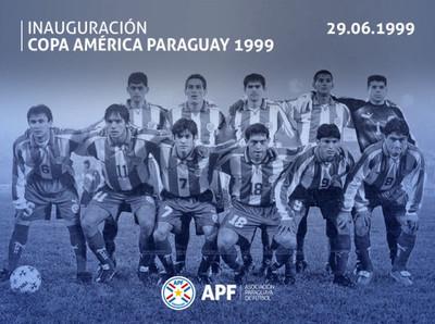 A 21 años del inicio de la Copa América en Paraguay