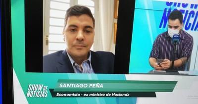 """Peña: """"No tenemos un horizonte de cómo se resolverá la situación fiscal"""""""