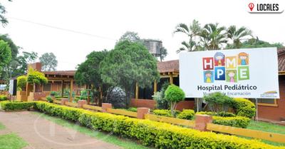 Funcionarios del MSP siguen prestando servicios en el Hospital Pediátrico de Encarnación