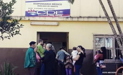 Cierran dispensarios del mercado y Barrio Fátima por covid positivo