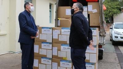 Entregan donación del Consulado de China en San Paulo al Ministerio de Salud