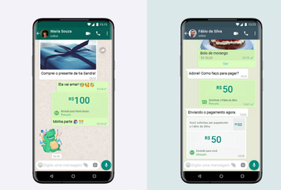 Lanzan herramienta de pagos vía WhatsApp en Brasil