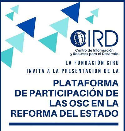 """Instalan """"Plataforma de la Reforma"""" dirigida a la participación ciudadana"""