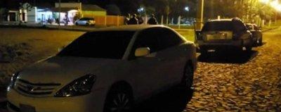 Con placa de policías realizaron millonario atraco en Yguazú