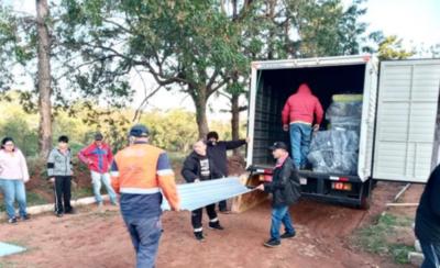 HOY / Emergencia Nacional brinda asistencia a familias afectadas por temporal