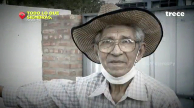 Todo lo que siembras, cosechas: La emocionante historia de Don Sinforiano