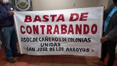 Cañeros repudian contrabando de azúcar y anuncian movilización para exigir precio justo • Luque Noticias
