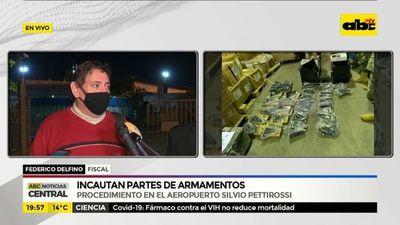 Armas estaban escondidas dentro de calentadores y conservadoras