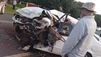 Santa Rosa del Mbutuy; Tres fallecidos en accidente de tránsito – Prensa 5