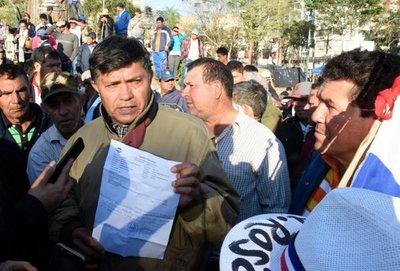 Sector campesino clama al Gobierno por atenciones