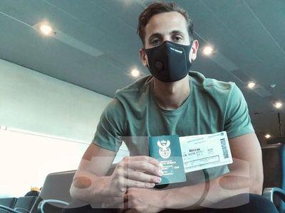 Norman, el arquero que sí retorna desde África, vuela a Paraguay