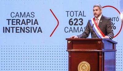 Presidente Abdo Benítez rindió cuentas de su gestión ante el Congreso