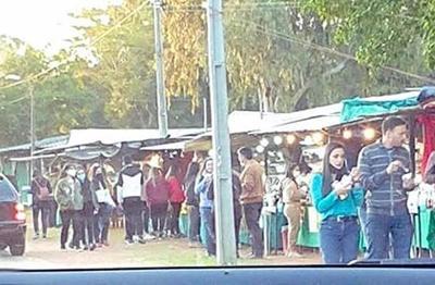 Expo Frutilla: Aclaran que en Areguá aún no inició, y la aglomeración habría sido en Itauguá