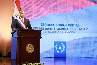 """""""No estamos satisfechos con la ejecución de Salud y vamos a hacer el esfuerzo de mejorar""""- Mario Abdo"""