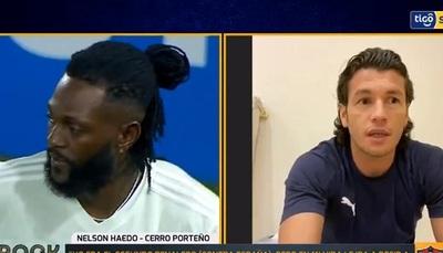 """""""Le felicité a los dirigentes de Olimpia"""", dice Haedo sobre Adebayor"""
