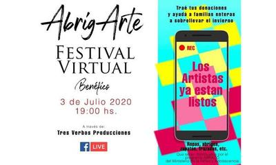 Organizan festival solidario virtual – Prensa 5
