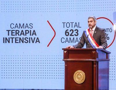 """Mario Abdo: """"No estamos satisfechos con la ejecución del presupuesto de Salud"""""""