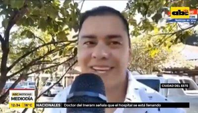 """""""Ya no creo en el coronavirus"""", asegura intendente de CDE"""