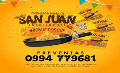 "Bomberos esteños realizarán ""San Juan Inteligente"" este sábado"