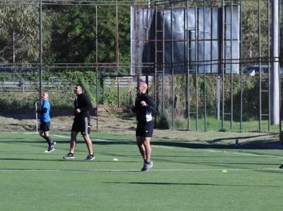 Segunda jornada de entrenamiento grupal