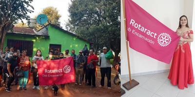 ROTARY CLUB ENCARNACIÓN RENOVÓ AUTORIDADES.