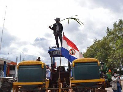 Cañicultores desistieron de avanzar hacia Asunción
