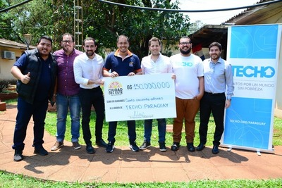 Intendente de CDE realiza BONDADOSOS APORTES con el dinero de la ciudadanía