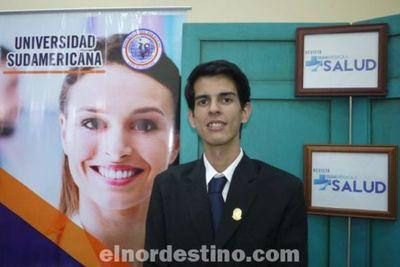Destacado universitario pedrojuanino becado organiza el Primer Congreso de Estudiantes de Medicina de la región