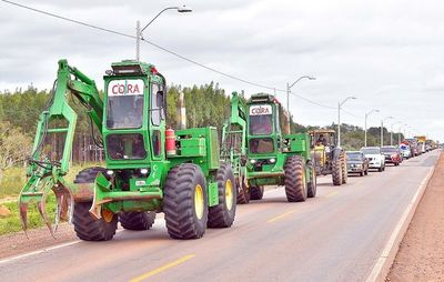 Cierran ruta en protesta ante el contrabando de azúcar