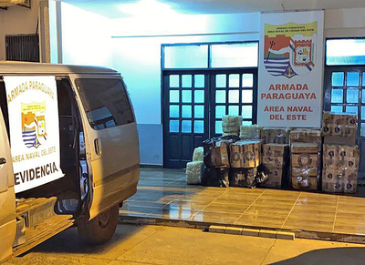 Siguen incautaciones de mercaderías a orillas del río Paraná
