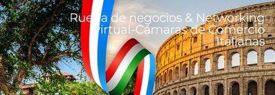 Participá de la rueda de negocios y networking virtual con Cámaras de Comercio italianas