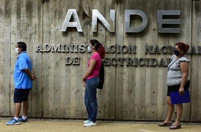 Facturas de ANDE se exonerarán por 2 meses más
