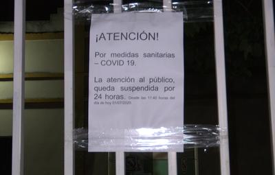 Comisaría de MRA está fuera de operación tras confirmación de caso de Covid-19