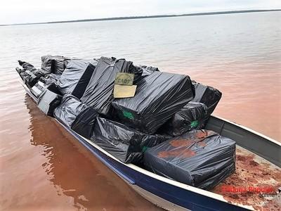 Decomisan embarcaciones en el LAGO de Itaipú y en el RIO Paraná